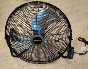 Stanley garage fan