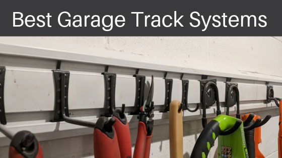 Track System for Odd-shaped Equipment | Garage Shelving Ideas For Ultimate Garage Organization | garage shelving ideas