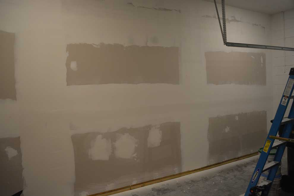 How To Drywall Your Garage Diy How To Guide With Photos Garage Transformed