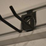 Gladiator Garageworks hook on a Gladiator GearTrack