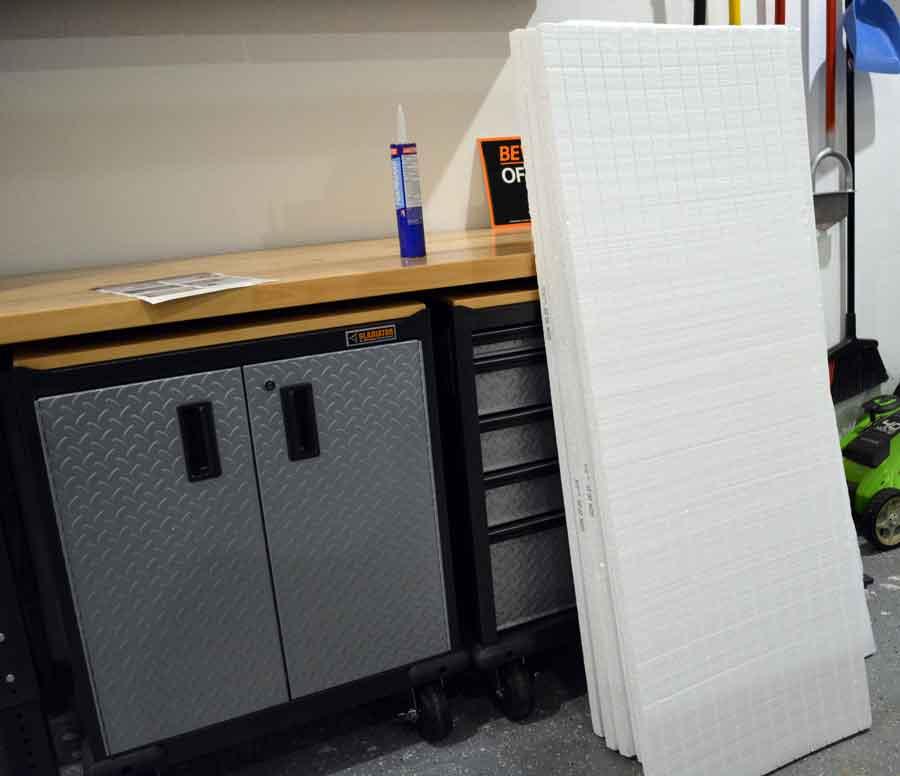 Matador garage door insulation kit panels