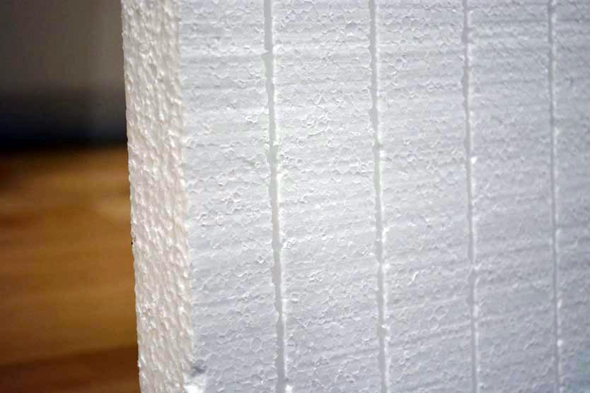 Matador garage door insulation kit close up