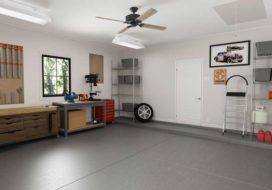 How To Finish Garage Walls