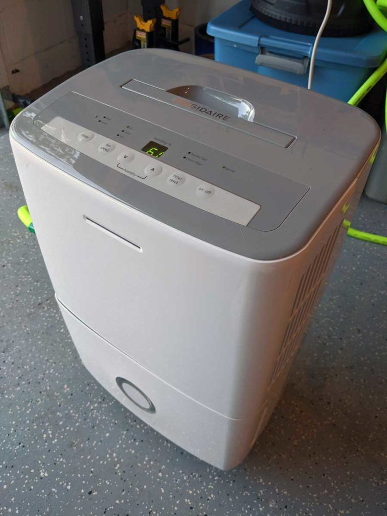 FFAD3033R1 garage dehumidifier