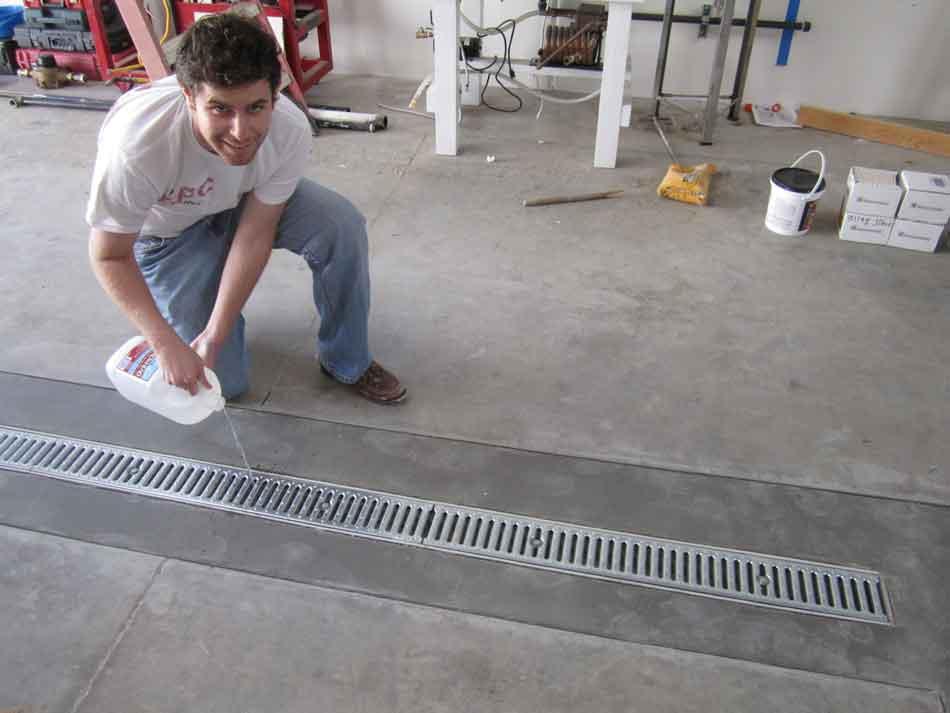 Can I Put A Floor Drain In My Garage Garage Transformed