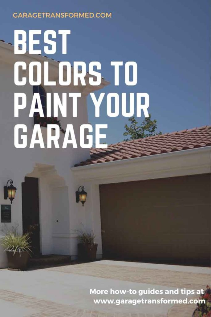 Best colors to paint your garage