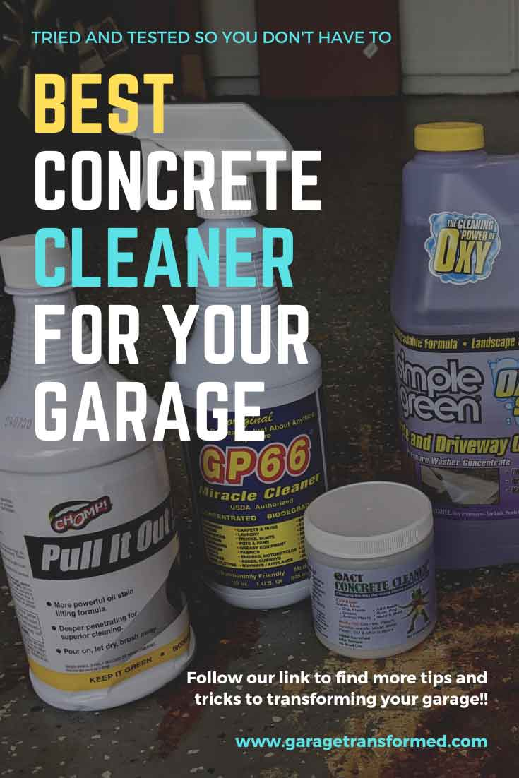 Best concrete cleaner for your garage