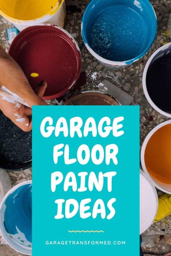 Garage Floor Paint Color Ideas