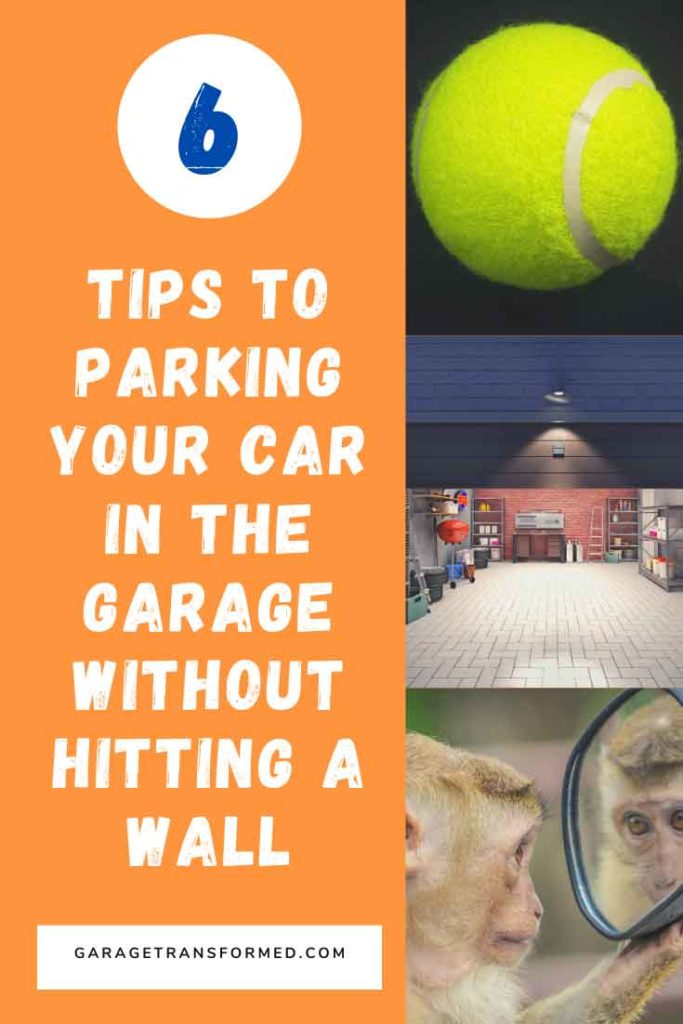 Garage parking aids so you stop hitting your garage wall