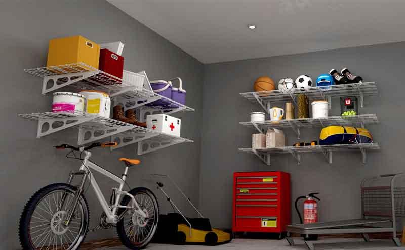 Fleximount wall shelves