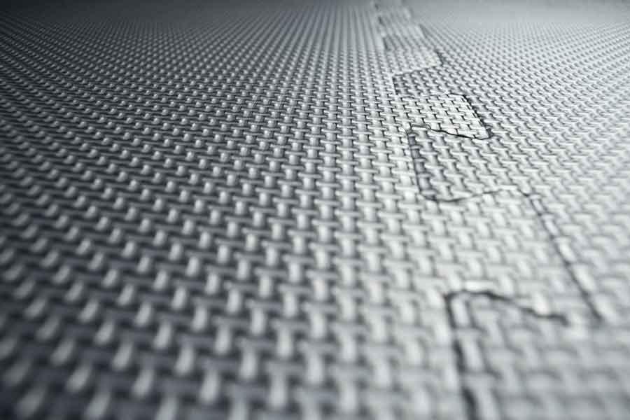 garage floor mats closeup